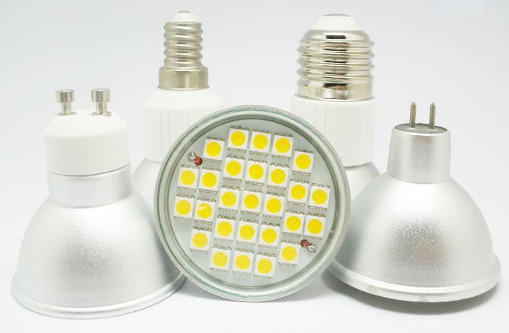 Светодиодные лампы для встраиваемых светильников